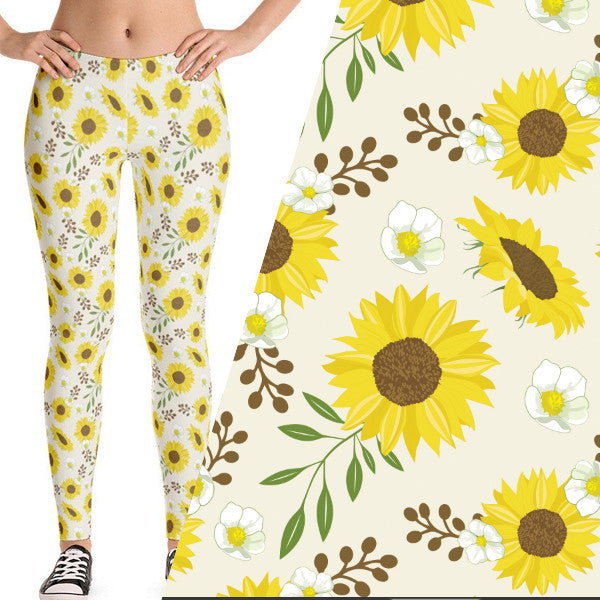 Cute Sunflower Leggings