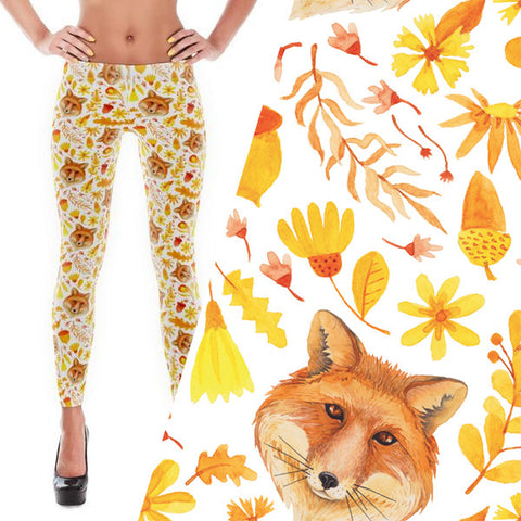 Feelin Foxy Bold Leggings