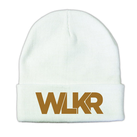 WLKR Bold - Gold Embroidery Unisex Beanie