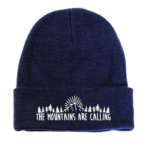 John Muir Quote Beanie by WLKR DSGN