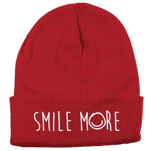 Smile More Beanie WLKR Threads