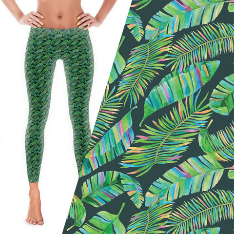 Tropical Greens - Bold Leggings