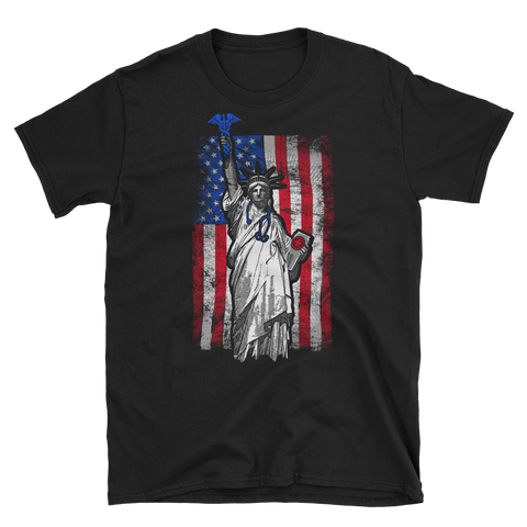 best patriotic nurse t shirts