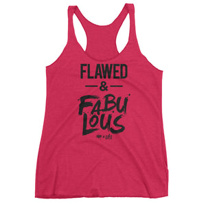 Flawed & Fabulous - Women's Racerback Tank Top