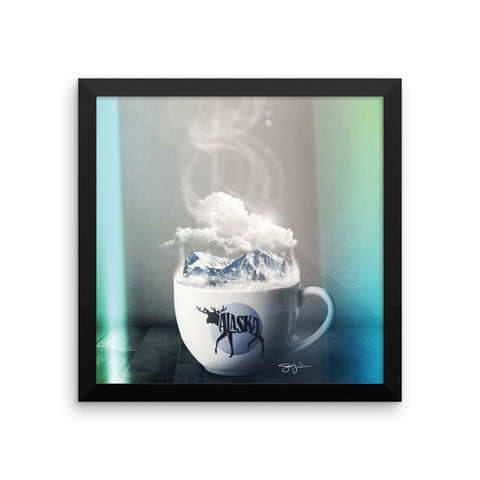 Drink It In - Alaska - Framed Art Print
