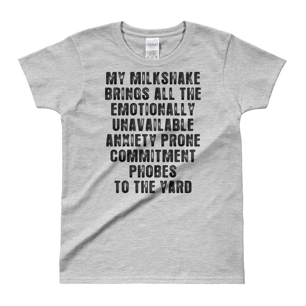 My Milkshake | Funny Womens T-shirt