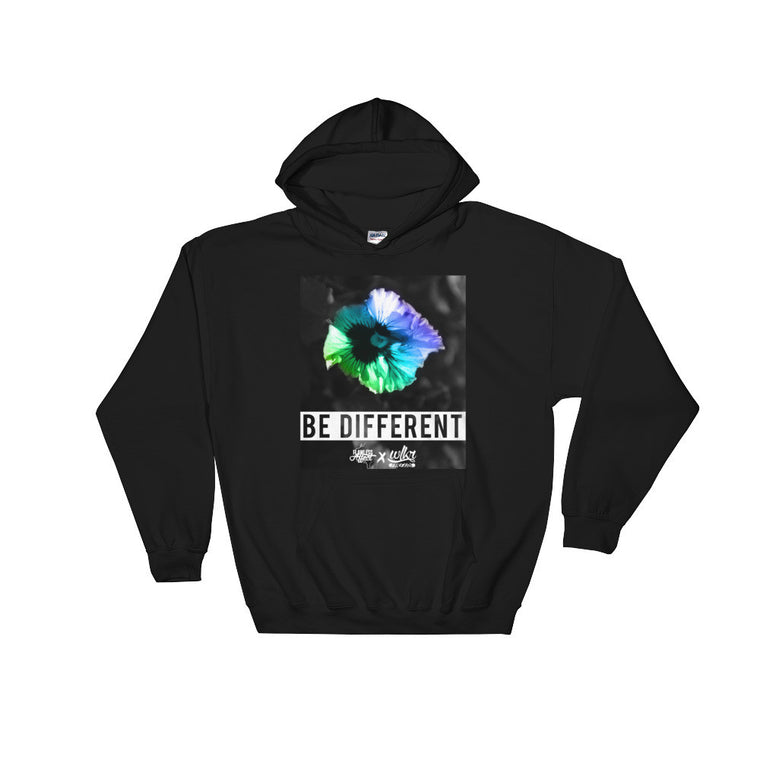 Be Different - Pullover Hooded Sweatshirt