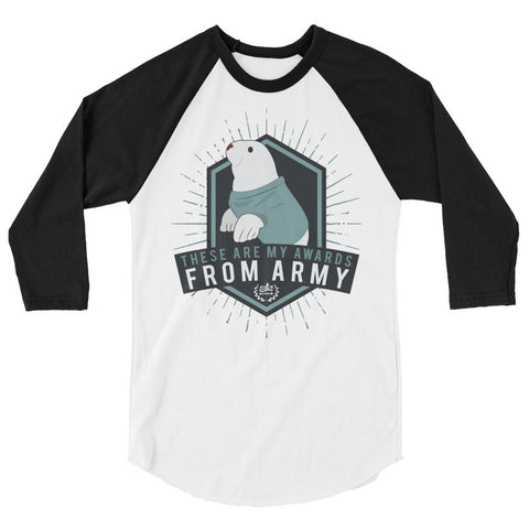 From Army - Unisex Baseball Raglan Tee