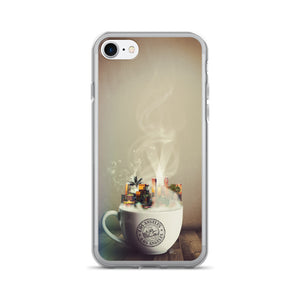 Los Angeles Coffee Cup iPhone Case - by WLKR Threads & Design