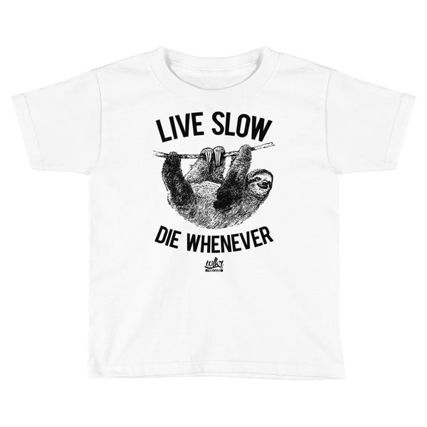 Live Slow Die Whenever | Kids Short Sleeve T-Shirt