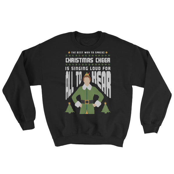 buddy the elf sweatshirt
