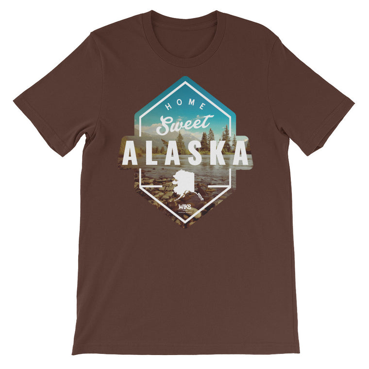 Home Sweet Alaska | Unisex Graphic T-Shirt
