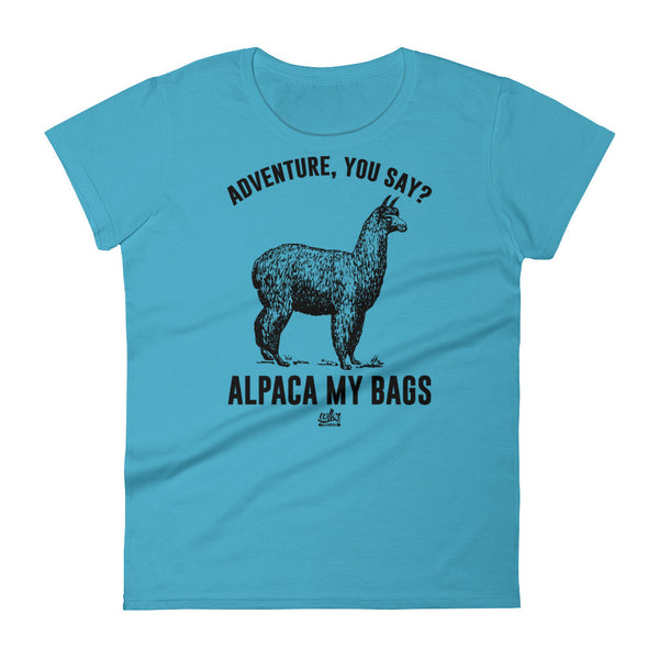 Alpaca My Bags - Women's Graphic Tee