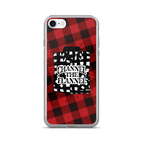 Channel The Flannel - iPhone Case