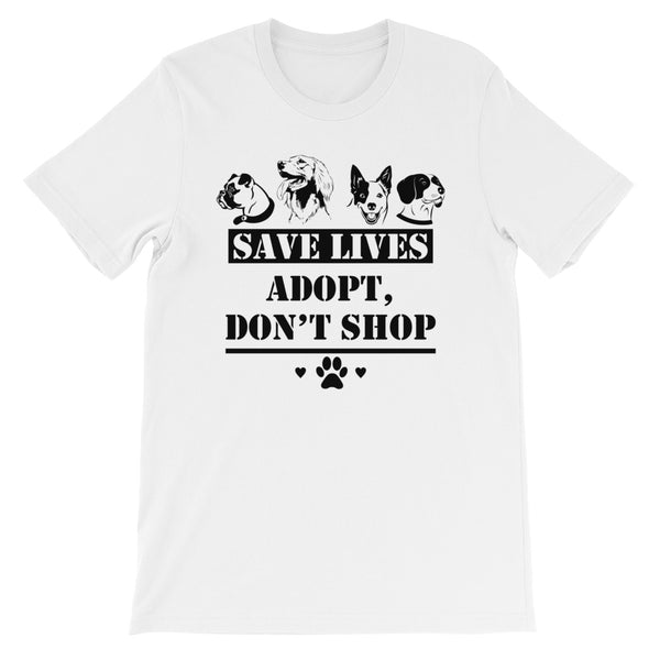 adopt dont shop t shirts for men