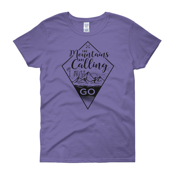 John Muir The Mountains Are Calling Tshirt