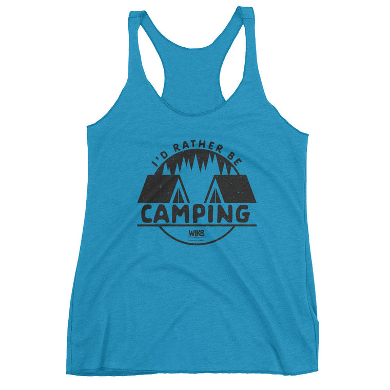 I'd Rather Be Camping | Women's Tank Top
