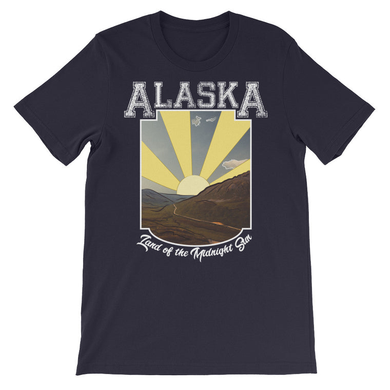 Land of the Midnight Sun | Unisex Alaska T-Shirt