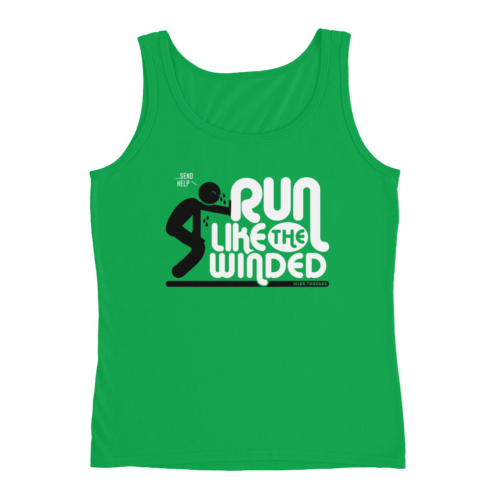 run like the winded tank top