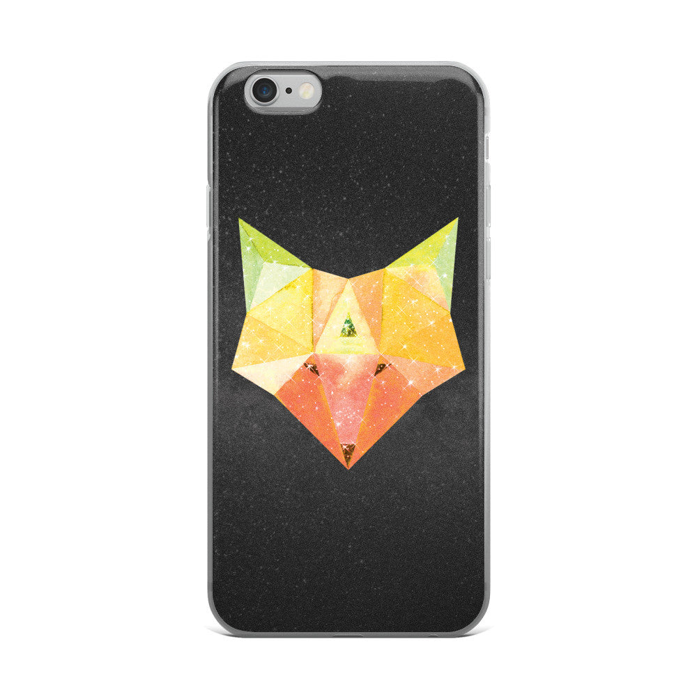 Cosmic Fox - Hipster iPhone Case (5/5s/Se, 6/6s, 6/6s Plus)