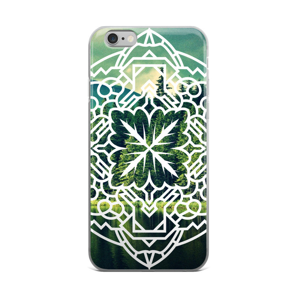Mandala iPhone Cases by WLKR Threads & Design