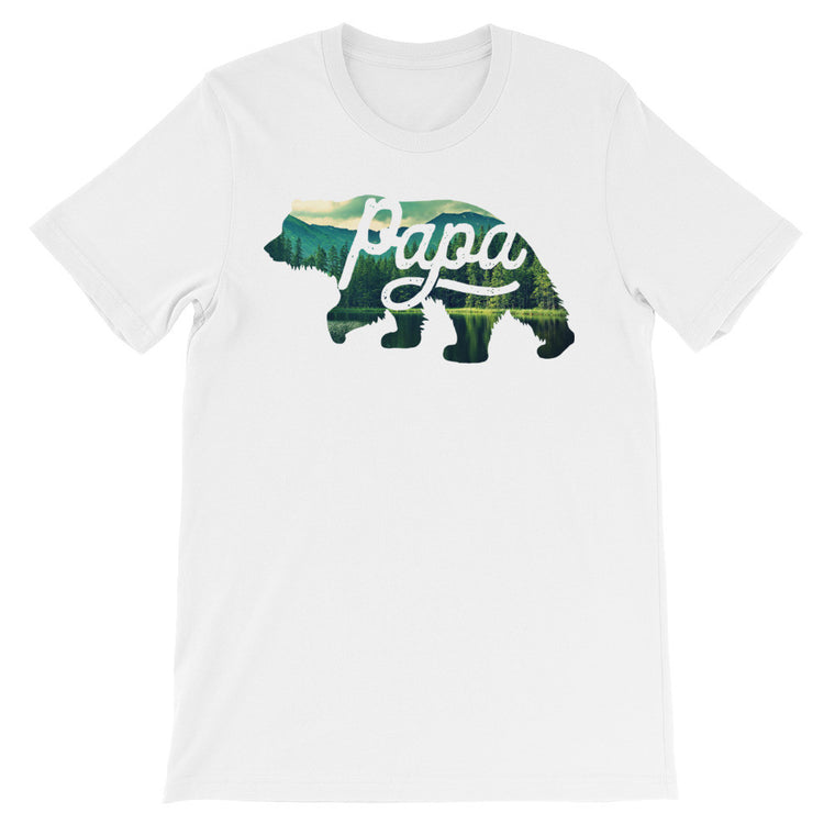 Papa Bear V2 | Graphic Tees For Dad