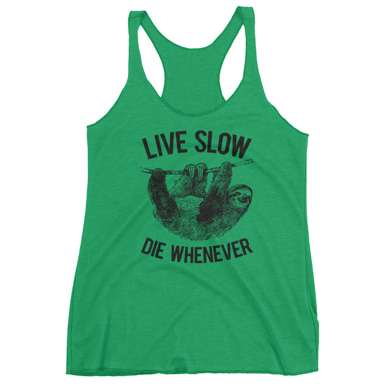 womens sloth tank top