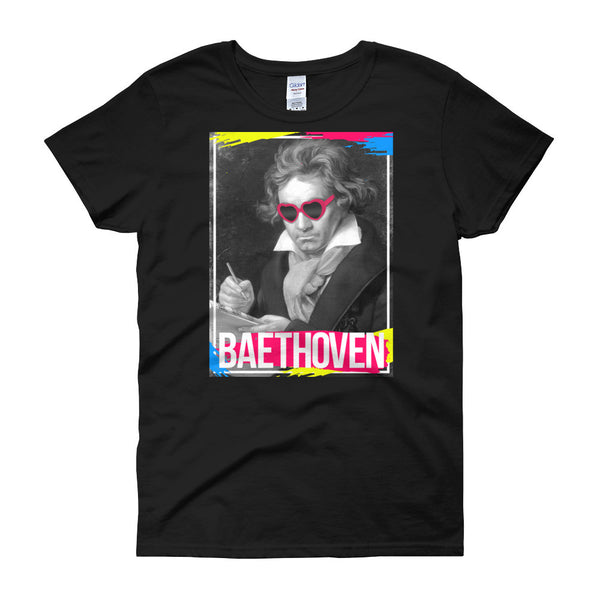 BAEthoven - Funny Women's Graphic Tee