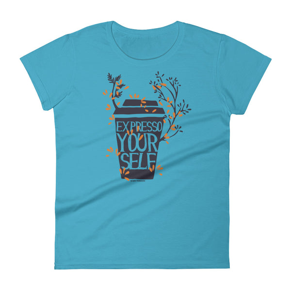 funny coffee t shirts for women