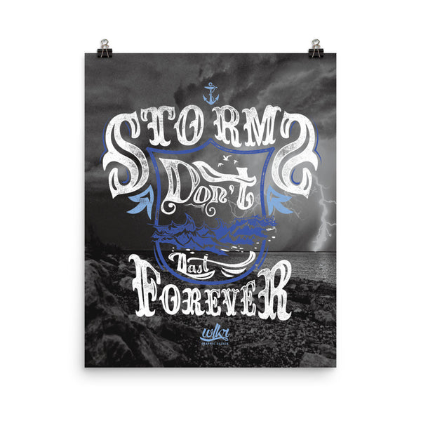 Hipster Motivational Wall Art by WLKR Design