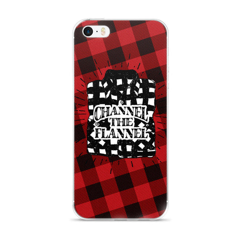 Channel The Flannel - iPhone Case (5/5s/Se, 6/6s, 6/6s Plus)