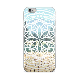 Mandala - Lake iPhone Case (5/5s/Se, 6/6s, 6/6s Plus)