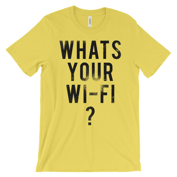 what's your wi-fi password