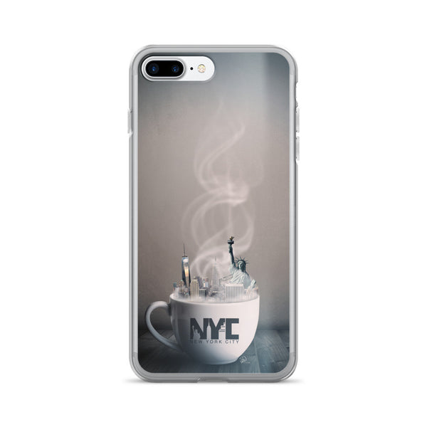 NYC Coffee iPhone Cases by WLKR Threads