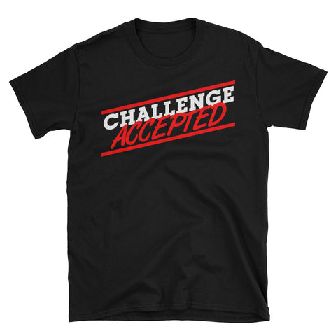 barney stinson challenge accepted shirt
