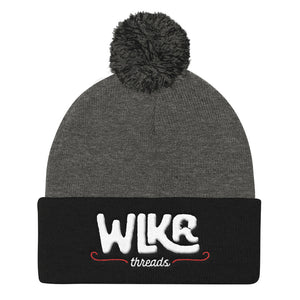 WLKR Threads - Pom Pom Knit Beanie