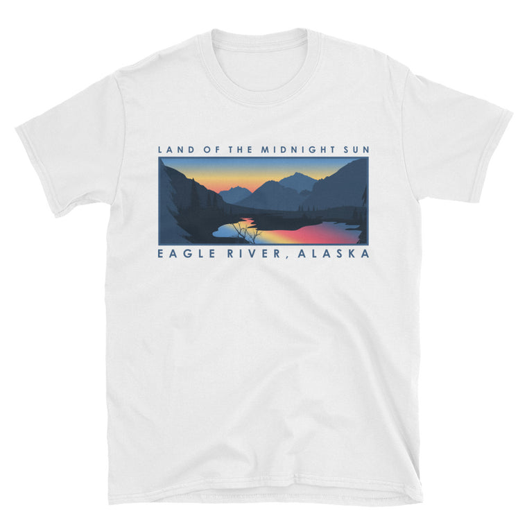 Eagle River | Midnight Sun Shirt | Unisex Alaska T-Shirt