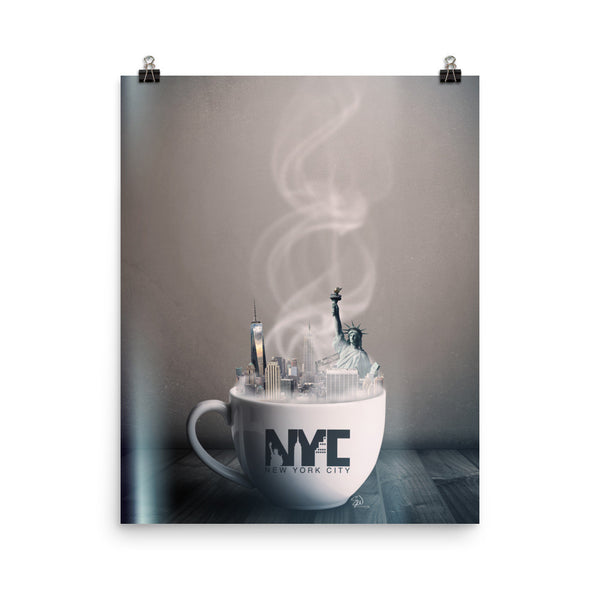 New York City Coffee House Print