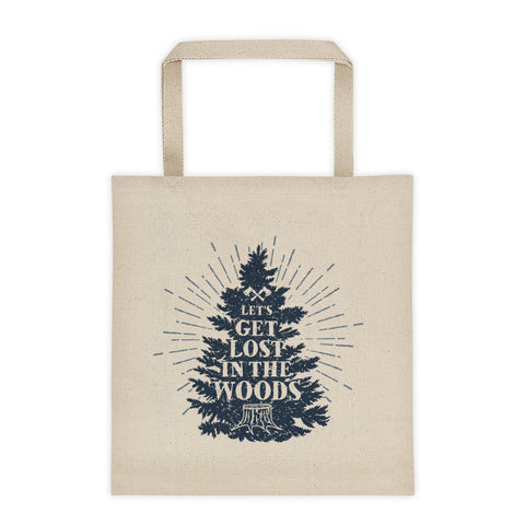 Lets Get Lost Tote Bag by WLKRDSGN