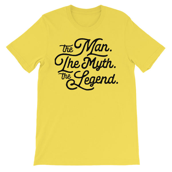 The Man The Myth The Legend | Men's Premium Graphic Tee