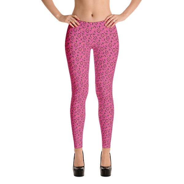 poppin pink leggings