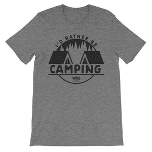 I'd Rather Be Camping | Men's / Unisex T-Shirt
