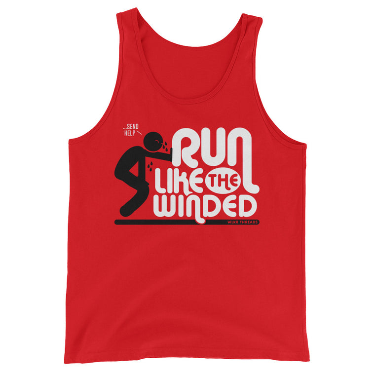 Run Like The Winded | Unisex Funny Gym Tank Top
