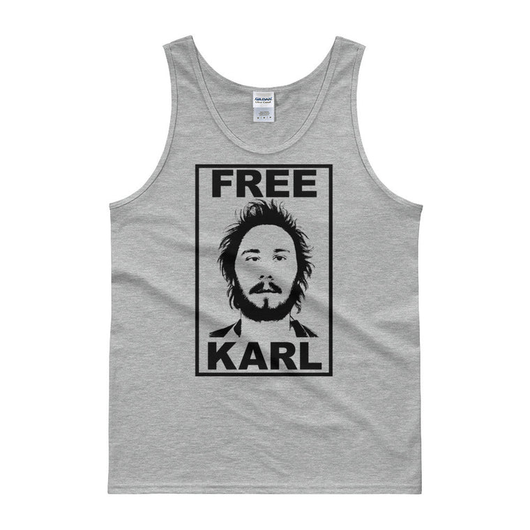 Free Karl - Funny Men's Workaholics Inspired Tank Top