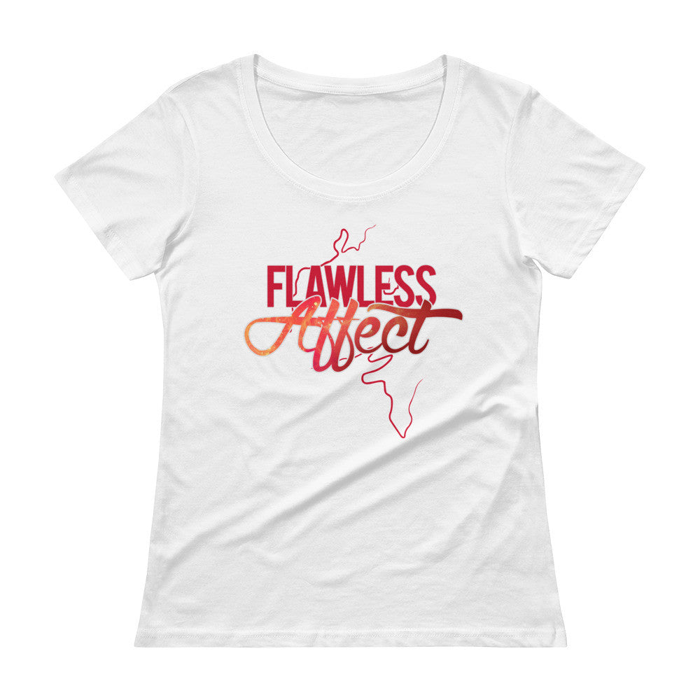 Flawless Affect - Ladies' Scoopneck T-Shirt