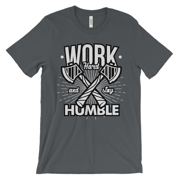 Work Hard & Stay Humble - Men's Tee