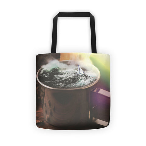 Cute Coffee Tote Bag
