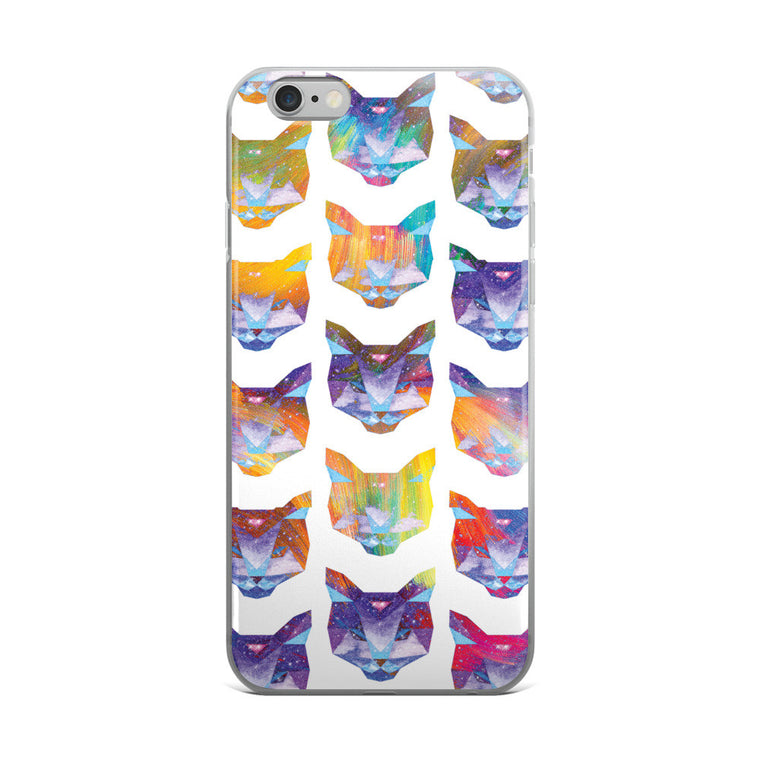 Cosmic Cat - Patterned - Hipster iPhone Case