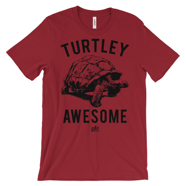 Turtley Awesome - Funny Men's T-Shirt