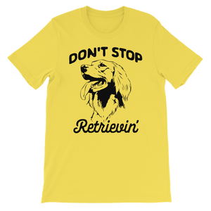best golden retriever t shirt for men